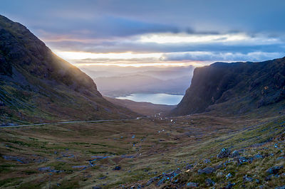 First light Bealach na Ba
