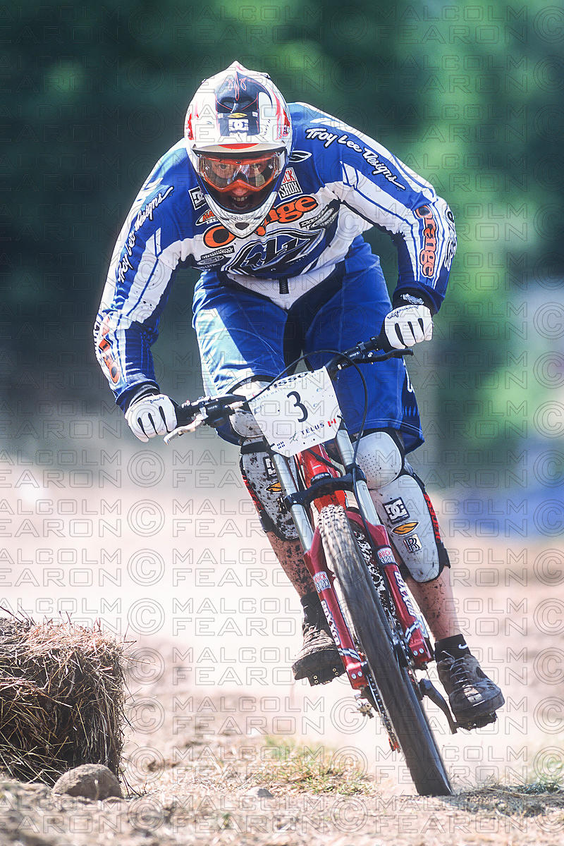 STEVE PEAT MONT STE ANNE, CANADA. TISSOT MOUNTAIN BIKE WORLD CUP 2002