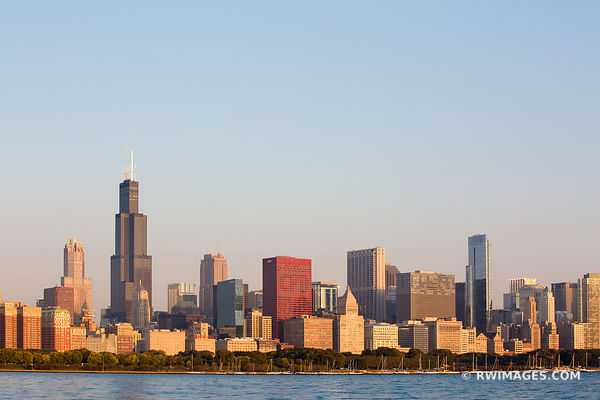 CHICAGO SKYLINE COLOR