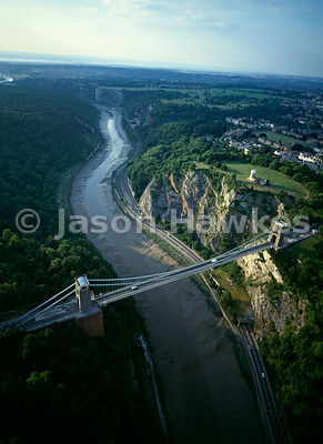 Clifton suspension bridge, Bristol, England.