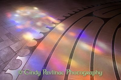 Labyrinth Rainbow Paths