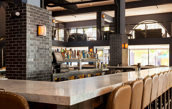 fireclay tile restaurant bar