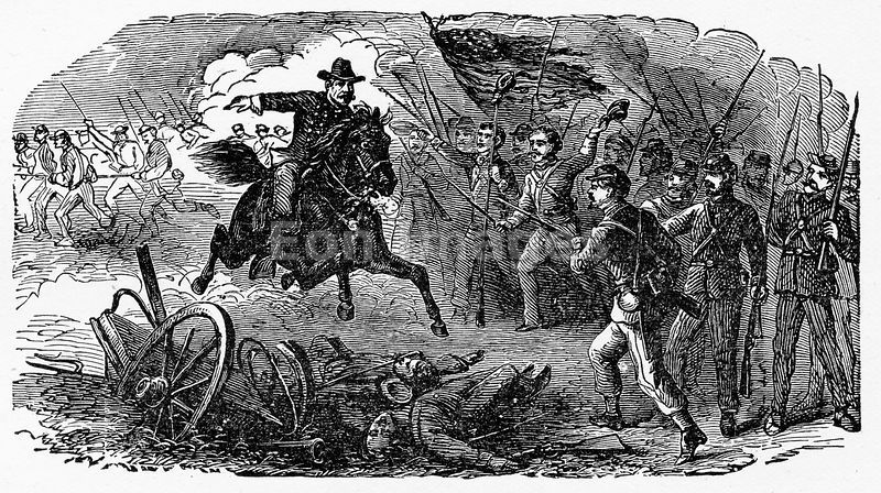 Civil War: Sheridan arrives at Cedar Creek