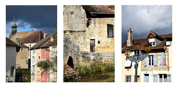 Triptyques photos d'Arbois
