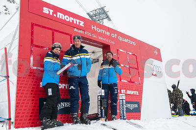 Ski Audi FIS World Cup Men Downhill Training1 St.Moritz photos