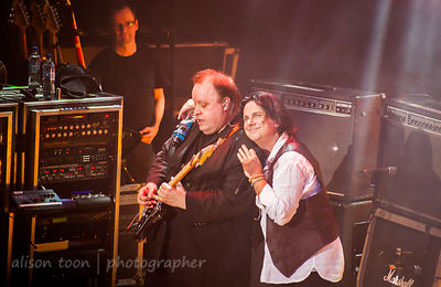 The two Steves sharing a happy moment, Marillion, Wolverhampton UK, 2013