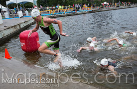 CAMTRI B Finals Men, Women. Ottawa International Triathlon, Dow's Lake, Ottawa, On, June 18, 2017