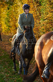 Kelly Morgan - The Cottesmore Hunt at America Crossroads 17/10