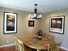 July 8th 2014 - I coordinated client's dining room picture