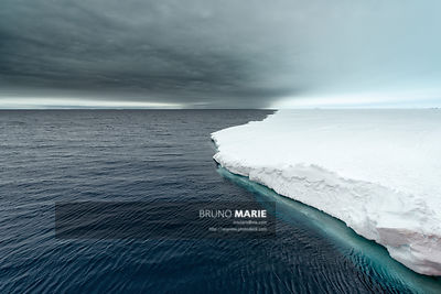 Water-sky, Antarctique