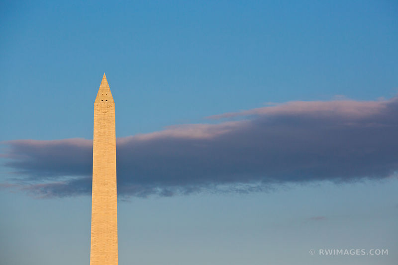 WASHINGTON MONUMENT NATIONAL MALL WASHINGTON DC COLOR HORIZONTAL
