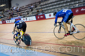 Men's Sprint 1/2 Final. 2015 Canadian Track Championships, October 8, 2015