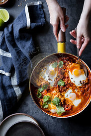 Coconut curry shakshuka