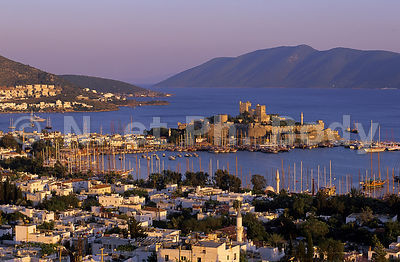 CHATEAU SAINT-PIERRE, BODRUM, TURQUIE//CASTLE OF SAINT-PETER, BODRUM, TURKEY