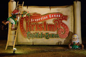 Grapevine Texas Christmas Sign