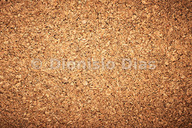 Granulated Cork Board background.