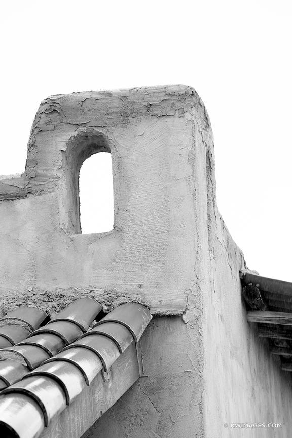 ADOBE ARCHITECTURE DETAIL NORTHERN NEW MEXICO BLACK AND WHITE VERTICAL
