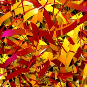 Autumn Leaves (abstract curvy)