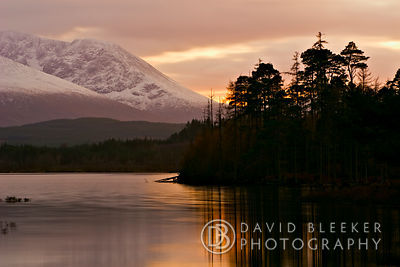 Loch Lochy November Sunset, Scotland