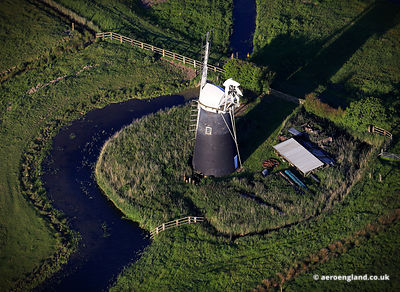 aerial photograph of Mutton's Mill Norfolk