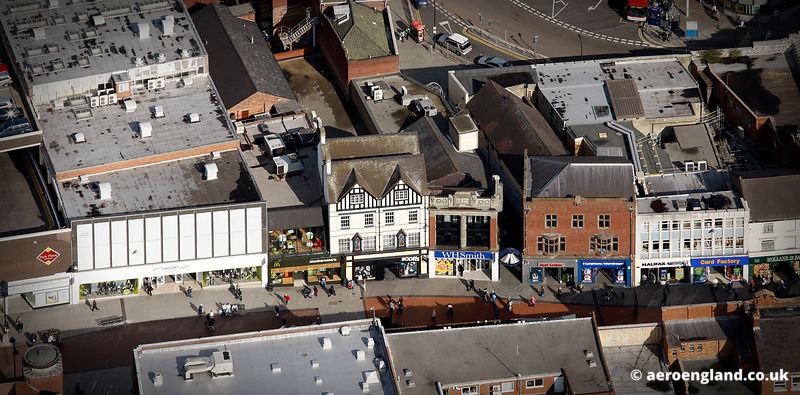 aerial photograph of Park StPark St Walsall WS1 1NG  UK
