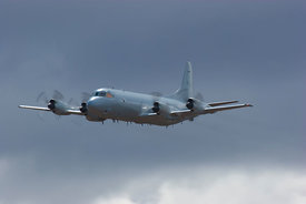 RAAF Orion surveillance aircraft