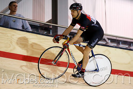 Master B sprint qualification. 2014 Canadian Track Championships, January 4, 2015