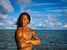 Cook Islander with Tattoo