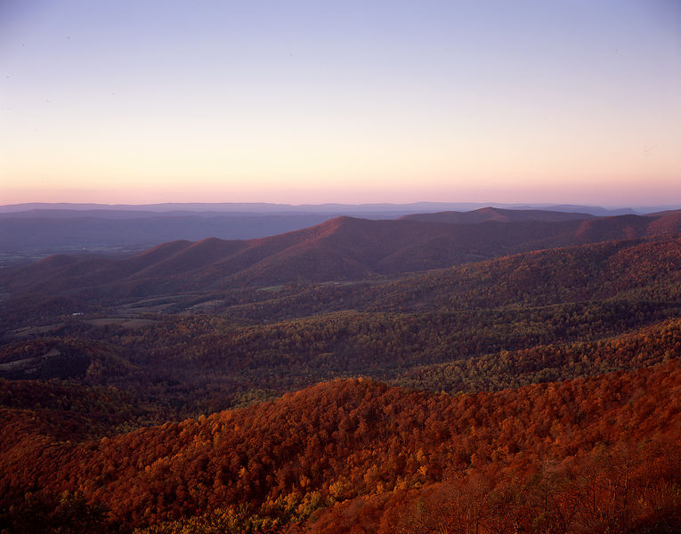 004-Blue_Ridge_D105084_Sunset_Mountain_Scene_-_Preview