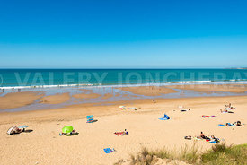 photo: plage des conches a Longeville sur Mer