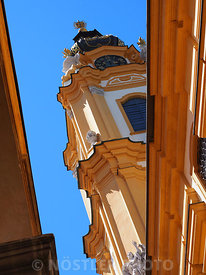 The Church tower at Stift Melk