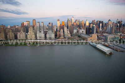 Part of the impressive skyline of Manhattan, New York City