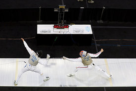 2014 NCAA Fencing Championships at French Field House-Columbus in Ohio.