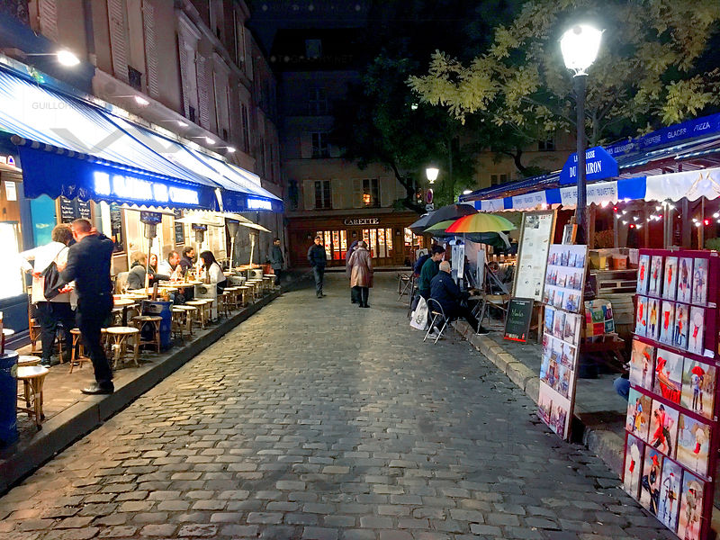 Montmartre_by_Night_3107