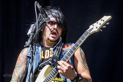 TJ Bell, Escape the Fate, Aftershock 2014