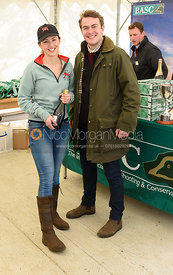 Eleanor Miller, Ed Wilson - Varsity Clay Pigeon Shooting, April 2017