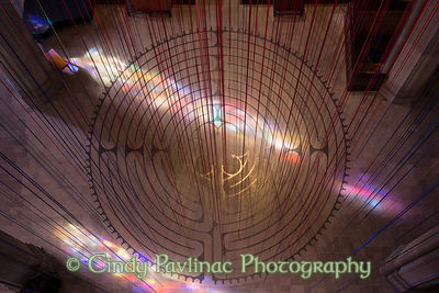 Labyrinth Graced With Light