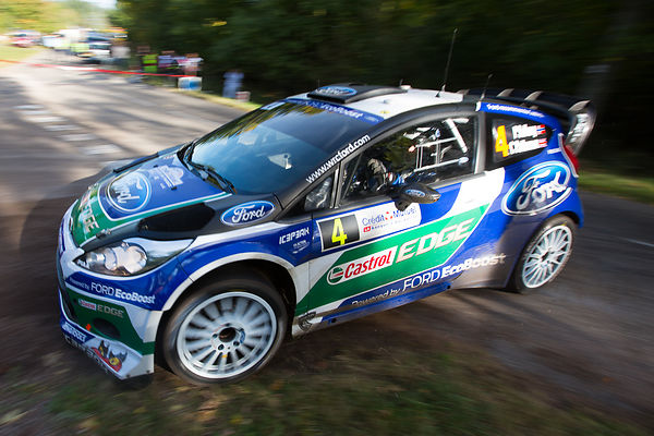 Orbey: WRC Rallye of France 2012