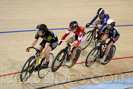 Women's keirin round 1. 2014 Canadian Track Championships, January 6, 2015