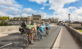 The Breakaway and the Amboise Chateau- Paris-Tours 2017