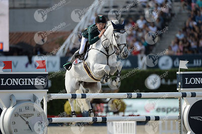 Bertram ALLEN ,(IRL), MOLLY MALONE V during Longines Cup of the City of Barcelona competition at CSIO5* Barcelona at Real Club de Polo, Barcelona - Spain