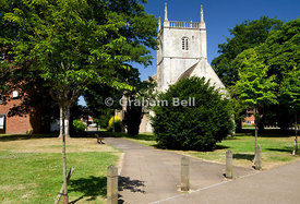 St Mary de Lode Church, the oldest church in Gloucester, Gloucestershire, England.