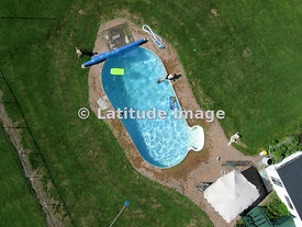 Family Swimming Pool On  Dairy Farm in the Ottawa Valley, Kinburn