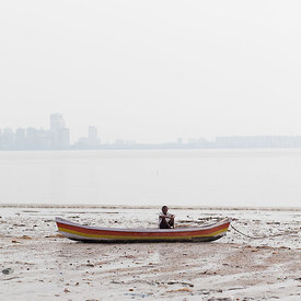 Fisherman in Mumbai, India