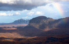 Suliven and Quinag - Mountain Landscape Photography