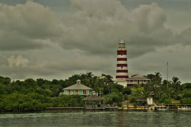 Hope Town Lighthouse - HDR