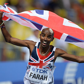 Mo FARAH (GBR) photos