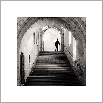 Interior Staircase, Palais des Papes - Avignon (France)