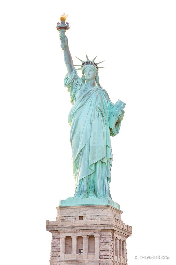 STATUE OF LIBERTY NEW YORK CITY NEW YORK COLOR VERTICAL