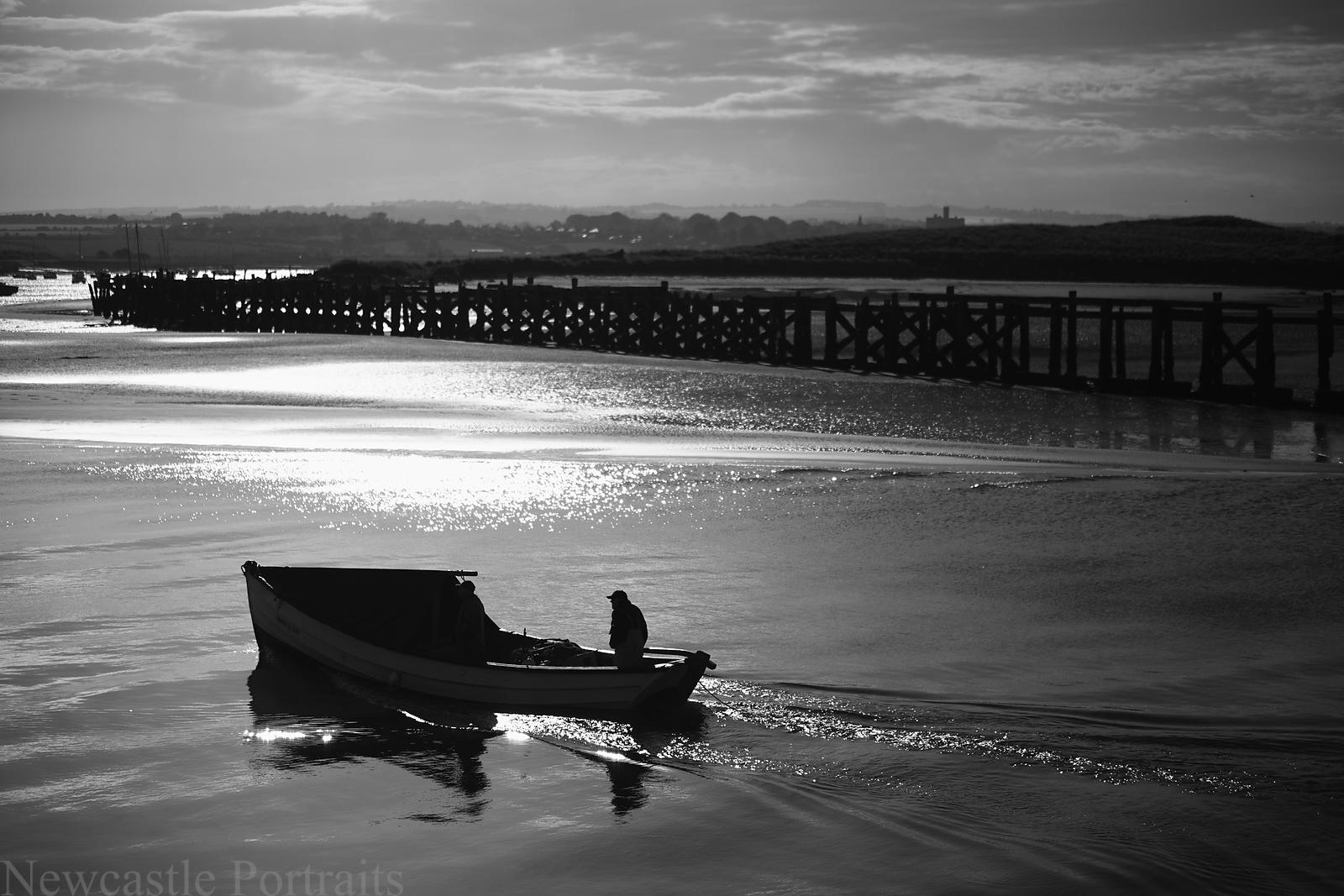 Amble Fisherman